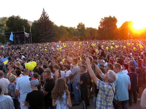 В Славянске торжественно отметили 2-летие освобождения города от террористов - Цензор.НЕТ 7636
