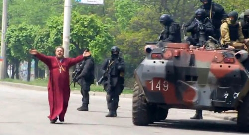 Первый бой АТО 13 апреля 2014-го - Цензор.НЕТ 4141