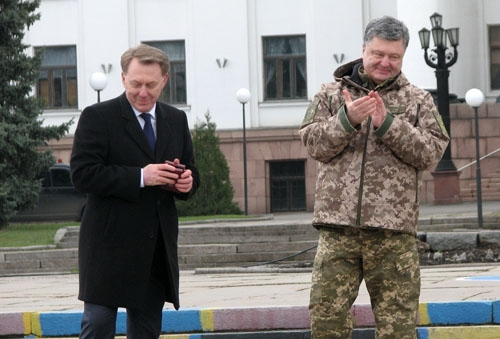 Порошенко наградил Олега Андреева в Краматорске