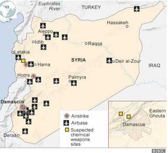 В Минобороны Франции показали видео удара по Сирии