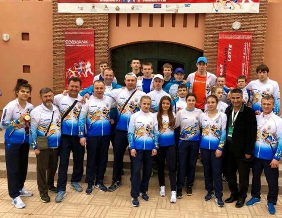 Сборная Украины впервые в истории стала победителем Всемирной летней Гимназиады