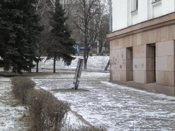 Террорситы обстреляли Краматорск