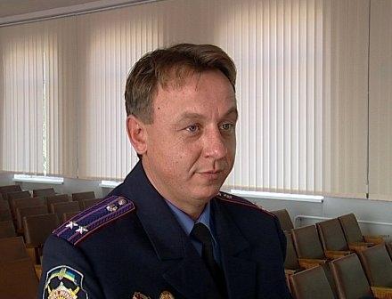 Сергей Забор стал начальником Краматорского ГОВД