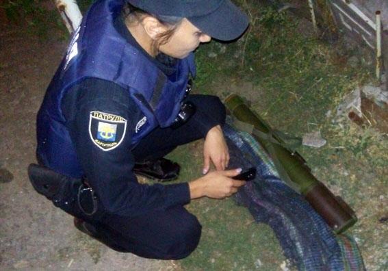 ВМариуполе дети отыскали гранатомет