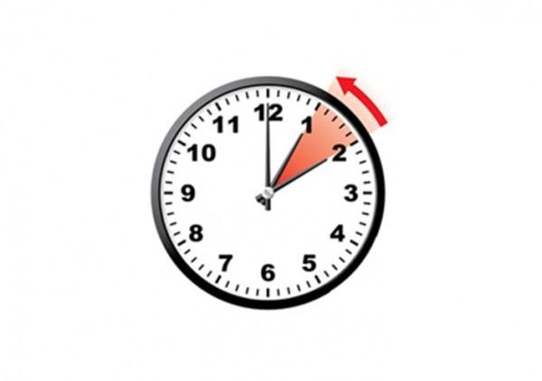 В воскресенье Украина переведет часы на зимнее время