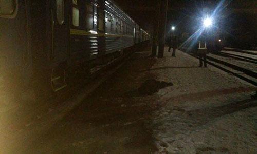 ВКраматорске мужчина прыгнул под поезд