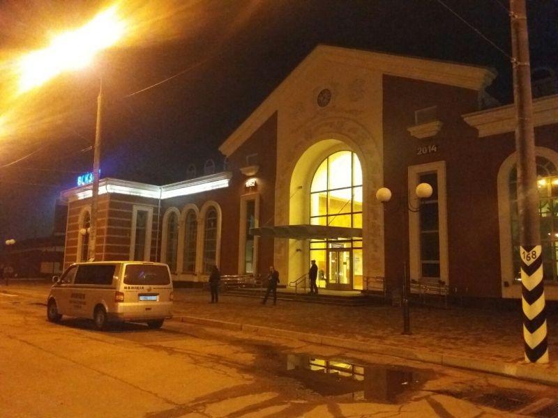 Сообщение оминировании железнодорожной станции вКраматорске неподтвердилось