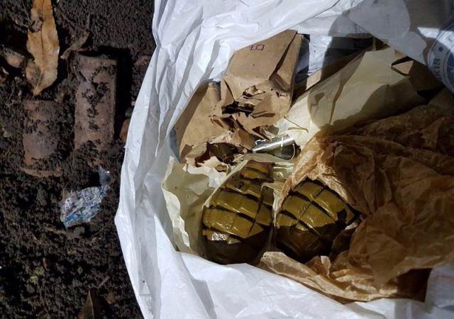 ВСлавянске милиция отыскала тайник сгранатами нагородском пустыре